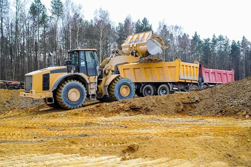 Challenges with fuel for earthmoving