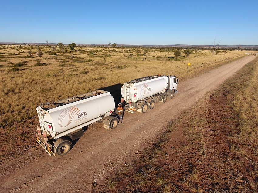 Bulk Fuel Australia servicing the agriculture industry